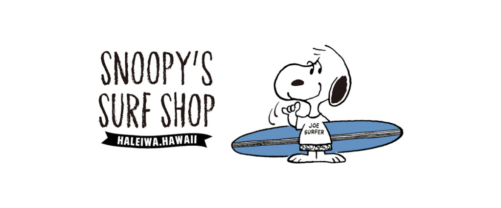 Snoopy surf